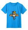 """Детская футболка классическая унисекс """"Florida Panthers"""" - хоккей, nhl, флорида пантерз"""