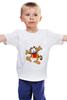 """Детская футболка классическая унисекс """"Garfild"""""""