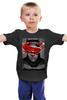 """Детская футболка классическая унисекс """"Batman vs Superman"""" - batman, superman, dc, бетмэн, batmanvsuperman"""