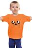 """Детская футболка классическая унисекс """"Джейк (Jake the dog)"""" - adventure time, время приключений, джейк"""