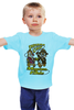 """Детская футболка классическая унисекс """"Indiana Jones x Chip 'n' Dale"""" - пародия, чип и дейл, индиана джонс"""