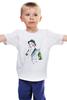 """Детская футболка """"С праздником"""" - праздник, девушка, шляпа, шампанское, телефон"""
