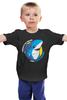 """Детская футболка классическая унисекс """"Левая акула"""" - мем, shark, left shark, левая акула, кэти перри"""