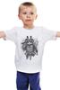 """Детская футболка классическая унисекс """"Самурай Панда"""" - панда, самурай, panda, samurai"""