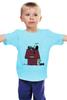 """Детская футболка классическая унисекс """"шерлок (SHERLOCK)"""" - bbc, sherlock, шерлок, бенедикт камбербэтч"""