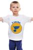 """Детская футболка классическая унисекс """"Сент-Луис Блюз """" - хоккей, nhl, нхл, сент-луис блюз, saint louis blues"""