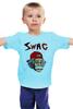 "Детская футболка классическая унисекс ""Art Swag"" - style, swag, свэг, эйнштейн, einstein"