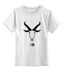 """Детская футболка классическая унисекс """"Коза-дереза. Символ 2015 """" - новый год, new year, 2015, коза, символ 2015, коза дереза"""