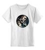 """Детская футболка классическая унисекс """"Zombie boy"""" - зомби, тату, zombie boy, зомби бой, рик дженест, rick genest, 47 ronin"""