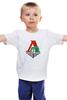 "Детская футболка ""Локомотив"" - футбол, локомотив, локо, фанатская, рфл, ногомяч, рубин, гусев"