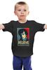 """Детская футболка классическая унисекс """"Верь в Шерлока (Believe in Sherlock)"""" - sherlock, шерлок, верь в шерлока"""