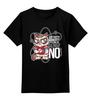 """Детская футболка классическая унисекс """"Bazinga!"""" - bazinga, теория большого взрыва, grumpy cat, бугагашенька, угрюмый кот"""