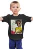 """Детская футболка """"Jean-Michel Basquiat"""" - граффити, корона, basquiat, баския, жан-мишель баския"""