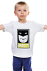 """Детская футболка классическая унисекс """"Космический Призрак (Space Ghost)"""" - obey, космический призрак, space ghost, host"""