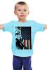 """Детская футболка """"beck №1"""" - usa, сша, flag"""