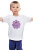"Детская футболка ""Adventure time"" - adventure time, время приключений, пупырка"