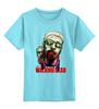 """Детская футболка классическая унисекс """"Walking Dead"""" - ужасы, ходячие мертвецы"""
