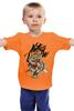 """Детская футболка классическая унисекс """"Natus Vincere (Na'Vi) – Illustration Yellow"""" - игры, game, yellow, dota, dota 2, navi, natus vincere, monsters, монстры, дота"""