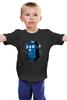 """Детская футболка классическая унисекс """"Tardis Ink"""" - doctor who, tardis, приключения, доктор кто, тардис"""