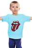 "Детская футболка ""The Rolling Stone wear"" - рок-н-ролл, the rolling stones"