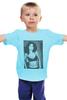 """Детская футболка классическая унисекс """"Моника Беллуччи """" - девушки, ню, моника беллуччи, monica bellucci, kinoart"""