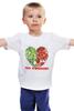 """Детская футболка """"GO VEGGIE!"""" - вегетарианец, сыроед, овощи, veggies"""