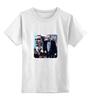 """Детская футболка классическая унисекс """"Путин"""" - обама, путин, putin, obama"""