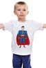 """Детская футболка """"Супермен (Superman)"""" - супермен, superman, супергерой, dc"""