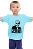 """Детская футболка """"Путин - я читаю ваши мысли!"""" - москва, россия, путин, президент, putin"""