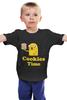 "Детская футболка ""Jake cookies "" - adventure time, время приключений, jake cookies"