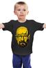 "Детская футболка классическая унисекс ""Уолтер Уайт"" - во все тяжкие, pixel art, пиксели, 8 бит, breaking bad, walter white, уолтер уайт, heisenberg"