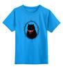 """Детская футболка классическая унисекс """"Милый котик"""" - кот, котик, casual"""