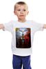 """Детская футболка классическая унисекс """"Свентовит"""" - культура, русь, славяне, богатырь"""