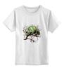 """Детская футболка классическая унисекс """"хамелеон"""" - выделись из толпы"""