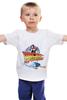"Детская футболка классическая унисекс ""Back to the future"" - кино, фильм, назад в будущее, фантастика, 80-е, film, back to the future, 80's"