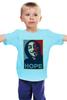 "Детская футболка классическая унисекс ""Anonimus (Obey)"" - anonymous, аноним, hope, надежда"