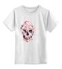 """Детская футболка классическая унисекс """"Цветочный Череп"""" - skull, для девушек, цветы, черепа"""