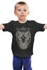 """Детская футболка классическая унисекс """"Сова (Абстракция)"""" - птицы, сова, абстракция, owl"""