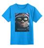 """Детская футболка классическая унисекс """"Хэнкок / Hancock"""" - уилл смит, will smith, kinoart, hancock, хэнкок"""