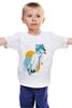 "Детская футболка ""Wolf teen"" - волк, wolf, furry"