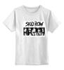 """Детская футболка классическая унисекс """"Skid Row"""" - rock, sebastian, бах, skid row, bach"""