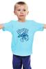 """Детская футболка классическая унисекс """"Смурф (Smurf)"""" - смурф, smurf"""