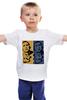 """Детская футболка классическая унисекс """"Обама"""" - usa, обама, сша, власть, obama"""