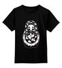 "Детская футболка классическая унисекс ""Матрешка Скелет"" - skull, череп, матрешка, dead, russian doll"