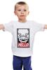 "Детская футболка ""Abe's (Oddworld)"" - hello, obey, oddworld, abe"
