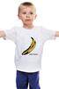 "Детская футболка ""Andy banana"" - энди уорхол, поп-арт, банан"