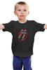 """Детская футболка классическая унисекс """"The Rolling Stones"""" - музыка, любовь, rock, логотип, язык, рок-н-ролл, rolling stones, фан, the rolling stones"""