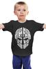 "Детская футболка классическая унисекс ""dnb name"" - drum and bass, dnb, drum&bass, d&b, драм-н-бэйс"