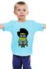 "Детская футболка ""Minion Moss"" - миньон, гадкий я, minion, компьютерщики"
