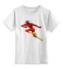 """Детская футболка классическая унисекс """"Flash (Молния)"""" - flash, молния, вспышка, флэш"""